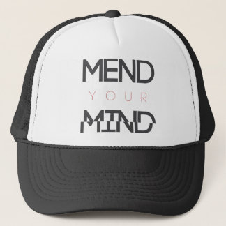 Mend Your Mind v1 Trucker Hat