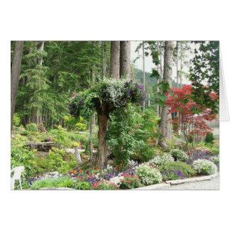 Mendenhall Gardens, Juneau Alaska Card
