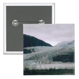 Mendenhall Glacier 15 Cm Square Badge