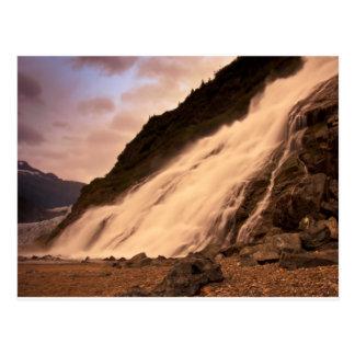 Mendenhall Glacier Falls Postcard