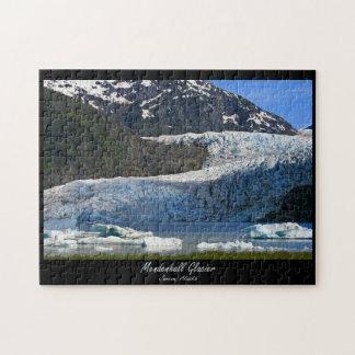 Mendenhall Glacier / Juneau Alaska Jigsaw Puzzle