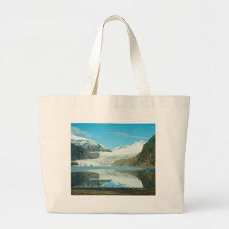 Mendenhall Glacier Large Tote Bag