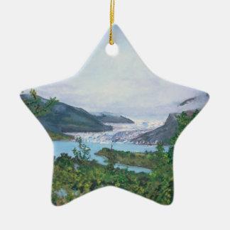 Mendenhall Glacier Ornament