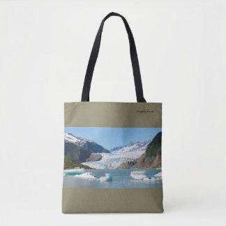 Mendenhall Glacier Panoramic Tote Bag