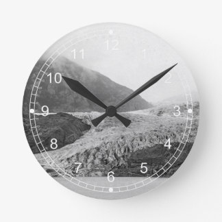 Mendenhall Glacier Round Clock