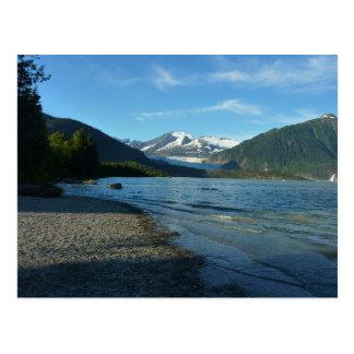 Mendenhall Lake in Juneau Alaska Postcard