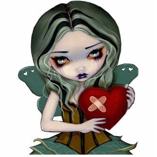 Mending a Broken Heart gothic fairy Photo Sculptur Standing Photo Sculpture