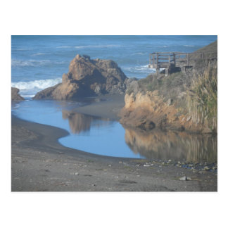 Mendocino Coast Beach Postcard