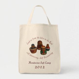 Mendocino Sufi Camp 2012 Organic Grocery Tote Grocery Tote Bag