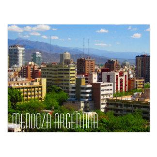 Mendoza Argentina Postcard