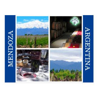 mendoza scenes postcard
