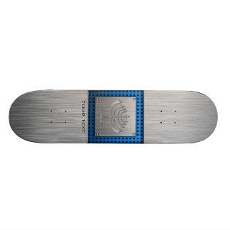 Menorah Brushed metal-look Skate Decks