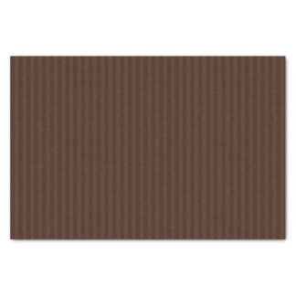 Menorah Dual Brown Vertical Stripes Tissue Paper