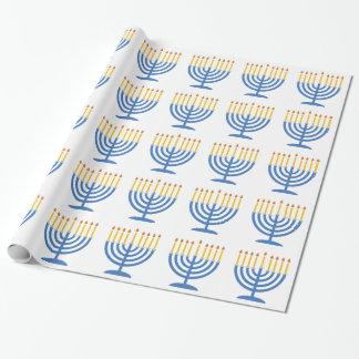 Menorah Wrapping Paper