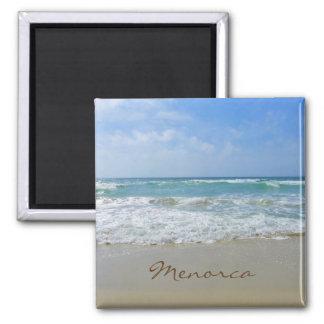 Menorca Beach and Sea Souvenir Magnet