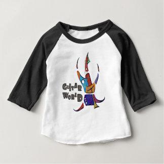 Menossium - guitar world baby T-Shirt