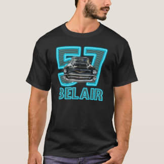 Men's 1957 Chevy Belair Shirt. T-Shirt