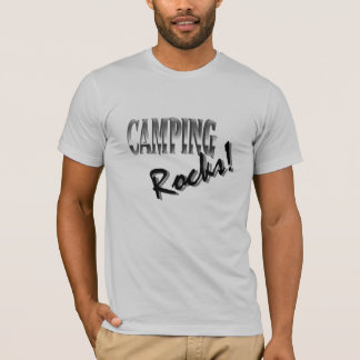 Men's 3/4 Sleeve Raglan - Campig Rocks T-Shirt