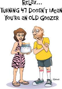 Mens 47th Birthday Card