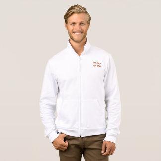 Men's 510 Fleece Zip Jogger (White) Jacket