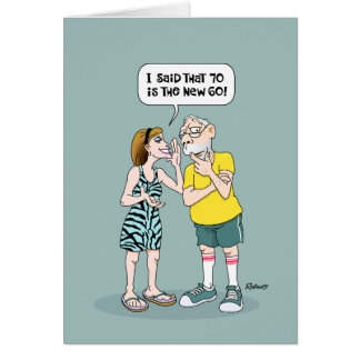 Men's 70th Birthday Card Humour