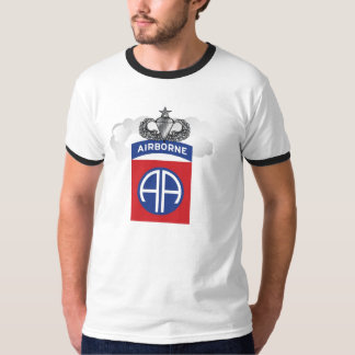 Mens 82nd Airborne All The Way Tee