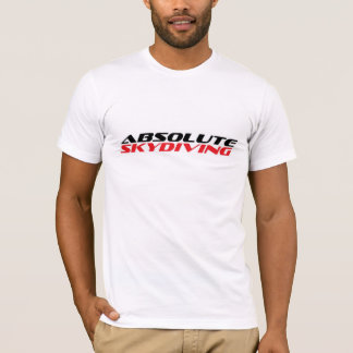 Mens 'Absolute Skydiving' T-shirt - Size M