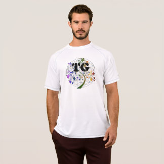 Men's Active Dri Shirt TG Flower Of Life Design