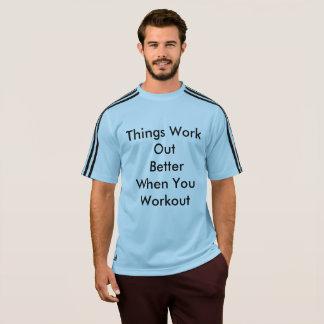 Mens Adidas T-shirtwith an inspiring message T-Shirt
