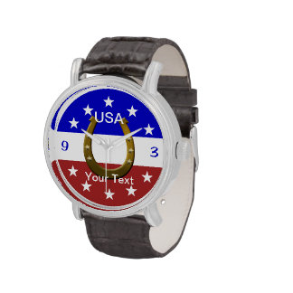 Men's Adult Size Rodeo Analog Wrist Watch