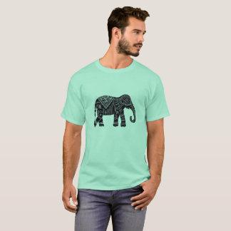 Men's African Elephant Print T-Shirt
