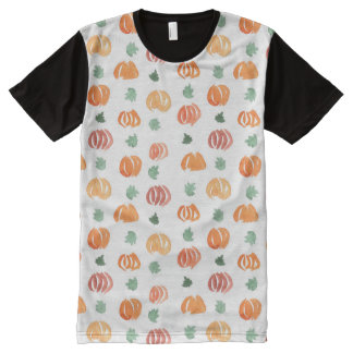 Men's all-over printed T-shirt with pumpkins All-Over Print T-Shirt