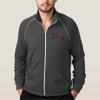 Men's American Apparel Cali Fleece Track Jacket