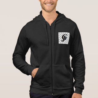 Men's American Apparel California Fleece Sleeveles Hoodie