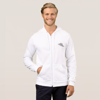Men's American Apparel California Fleece Zip  Hood Hoodie