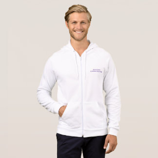 Men's american apparel california zip hoodie
