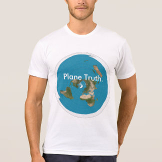 "Men's American Apparel ""Plane Truth."" T-Shirt"