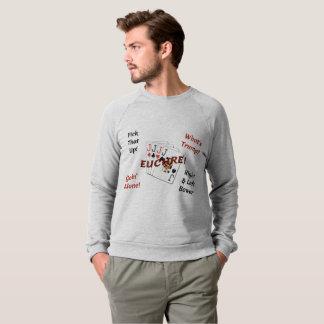 Men's American Apparel Raglan Sweatshirt - Euchre!