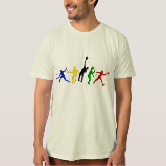 Mens Athlete Tennis Player Olympian Tennis T Shirts