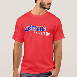 Mens Australia, Est. 1788 shirt