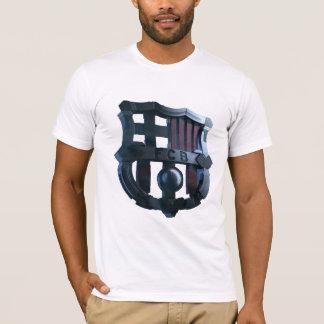 Mens Barcelona Metal Crest T-Shirt