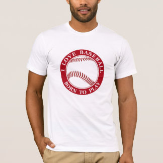 Men's Baseball Theme T-Shirt