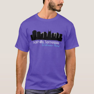 Men's Basic Dark T-Shirt Nashville