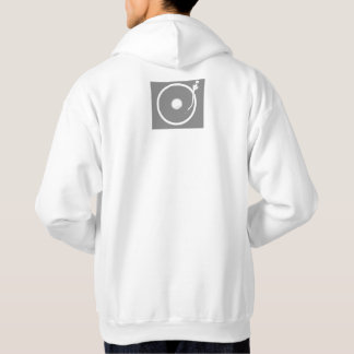 Men's Basic Hooded Sweatshirt DJ Design
