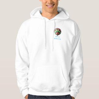 Men's Basic Hooded Sweatshirt Hot air Ballooning