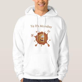Men's Basic Hooded Sweatshirt - Its Monday