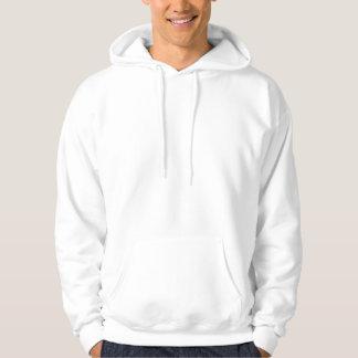 Mens Basic hooded sweatshirt - Rear Logo