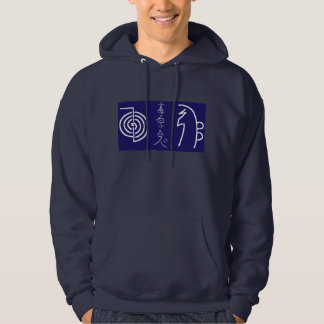 Men's Basic Hooded Sweatshirt Reiki