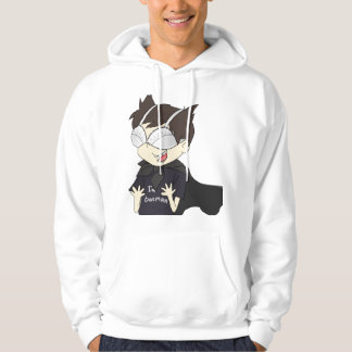 Men's Basic Hooded Sweatshirt with funny boy