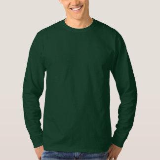 Men's Basic Long Sleeve T-Shirt DEEP FOREST GREEN